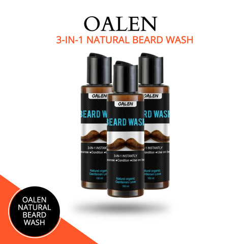 Natural Beard Wash