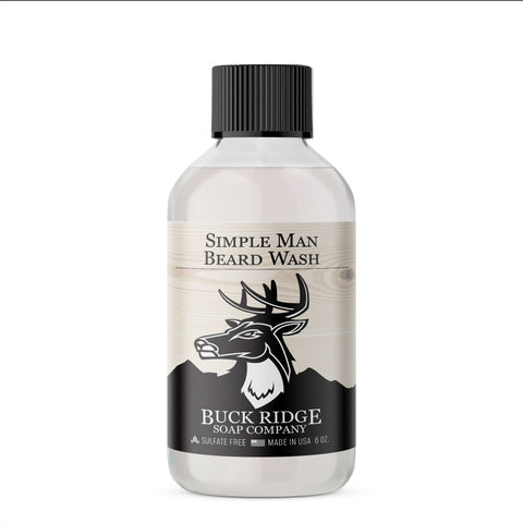 Simple Man Beard Wash