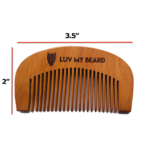 LuvMyBeard Pocket Beard Comb