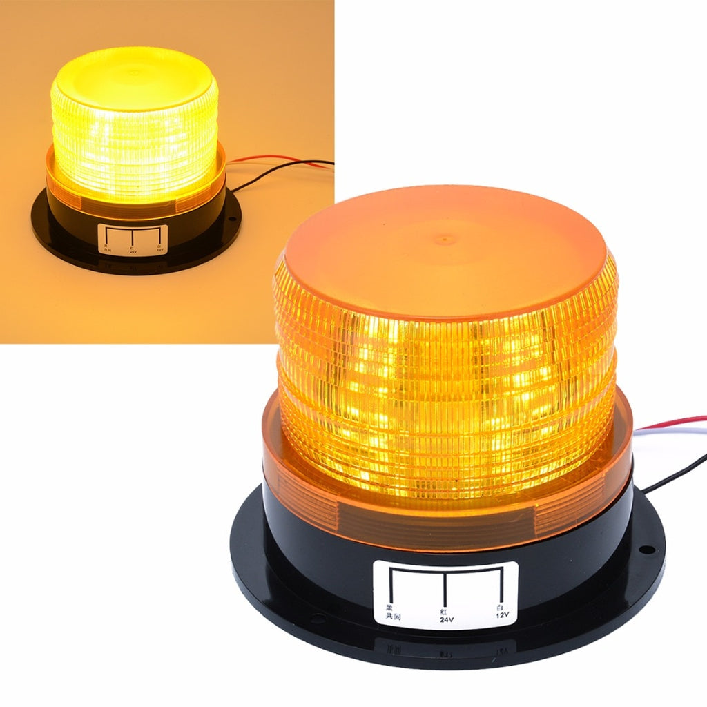 Car Styling 12v 24v Led Flashing Strobe Light Ezbeee Also Found A Circuit That Strobes The Leds Like Police Lights