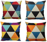 All Smiles Orange Lambar Rectangle Throw Pillow Covers Cases Oblong Accent Decorative Cushion 12x20 Set of 2 Home Décor Square for Couch Sofa Chair, Geometric Dot Circle