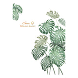 2x Tropical Plants Green Leaves Living room Bedroom Decor Vinyl Wall St XHE
