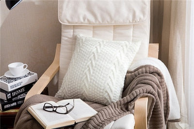 2019 new thick wool cushions cojines decorative throw pillows car bed sofa living room decor throwpillows car back cusions decor