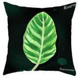 Nordic Style Green Leaf Deer Cushion Minimalist Decor Office Chair Pillow Pink Flamingo Flower Cactus Plant For Home Living Room