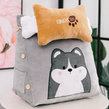 Chair Cushion Pillow Office Sofa Triangle Back Cushions Home Decor Living Room Meditation Gift Respaldo Cama Plush Toys FK019