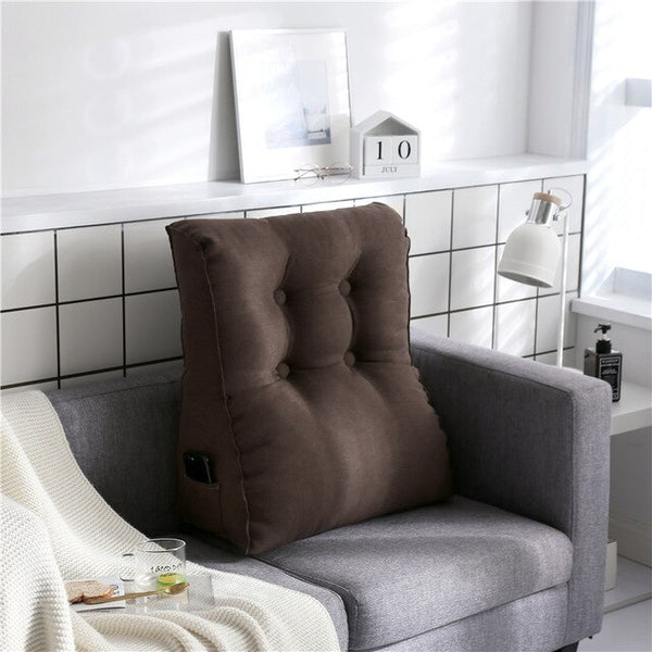 Large Sofa Back Cushion Pillow Cushions Home Decor Meditation Chair Living Room Pillows Cogines Removable and Washable FK061