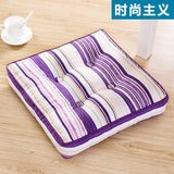 Fmaily Portable Living room Seat Cushion Chair/Sofa Back Cushion Super Soft Table Back Pillows Square Meditation Cushion