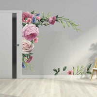 Wall Stickers Peonies Decal Decors Removable Flowers Home/Bedroom Living Room PV