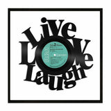 Live Love Laugh Vinyl Wall Art Anniversary Home Room Office Decor Unique Gift