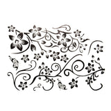 Removable Butterfly Flower DIY Vinyl Decal Art Mural Home Decor Wall Stickers SJ