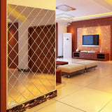 USA 3D Wall Stickers Mirror Removable Sticker Home Livingroom Window Decoration