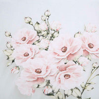 3Pcs Hand Painted Rose Wall Painting Picture Living Room Art Decoration 30x40cm