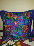 Embroidered Ethnic Mexican Chiapas 2 accent Pillow Cases Cushion Covers - US