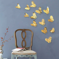 Wall Decal Butterfly Wall Sticker Art Hollow Out Living Room Wall Decoration FM