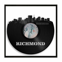 Richmond VA Vinyl Wall Art Cityscape Souvenir Decorative Home Living Room decor