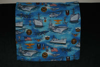 "US NAVY 16"" ACCENT PILLOW CASE"