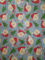 Homemade Baby Boy Christmas Blanket and Pillow Case Santa Holiday