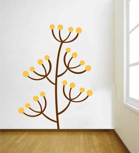 Decorative Flower Wall Sticker Home Decor Removable Art Vinyl Mural Living Room