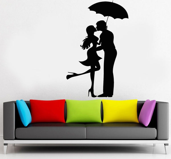 Decal Vinyl Wall Date Sticker Decor Couple Art Home Removable Love Romantic DIY