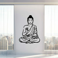 Buddha Wall sticker Home Decor Wall Stickers For Living Room Bedroom Sticker