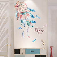 3D Dream Catcher Wall Sticker Decor Living Room Window Decoration Wall Sticker