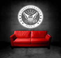 Wall Vinyl Sticker Room Decal Mural Decor Art United States Stamp Eagle bo2149