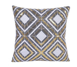 "18x18"" New Decorative Gold Foil Printed Accent Pillow zipper Case/Cover"