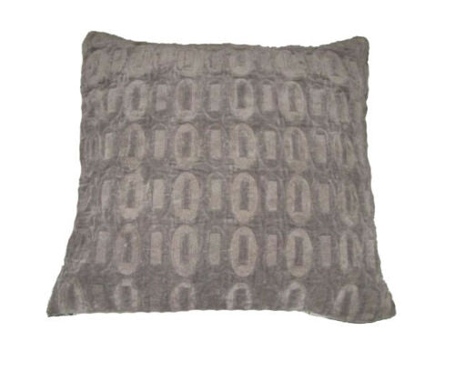 "1pc Gray Velvet Cushion Cover Pillow Case 17x17""45x45cm Home Furnishing For Home"