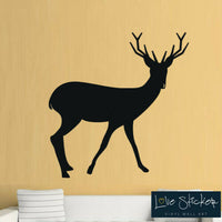 Wall Stickers Deer Stag Animal Hall Living Room Art Decals Vinyl Home Decor Head