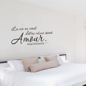 Layout Wall Sticker Quotes