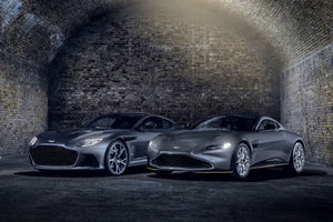 '007 Edition' Aston Martins Salute 'No Time to Die' and 'The Living Daylights'