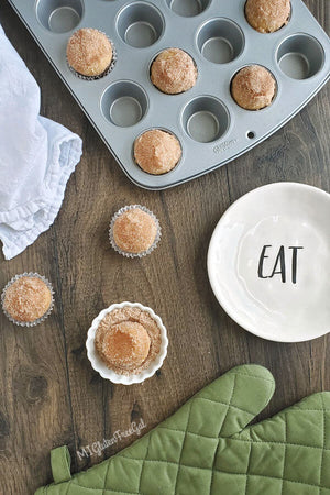 These gluten free donut muffins recreate all the flavor of a cinnamon sugar donut, without the special pan