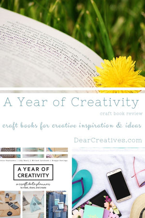 A Year Of Creativity – New Release Craft Book
