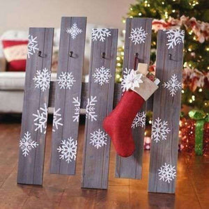 Beautiful Rustic Stocking Holders
