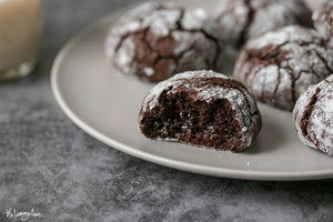These Coffee Chocolate Crinkles are one of the best I've eaten