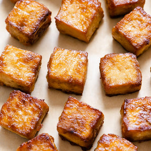 Here is a simple recipe on how to make baked tofu