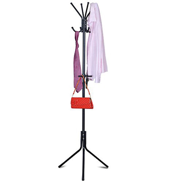 Furinno Metal Hat and Coat Stand FNBK-22123-1