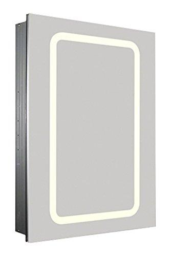 Whitehaus Collection WHKAL7055-I Medicine Cabinet, Aluminum