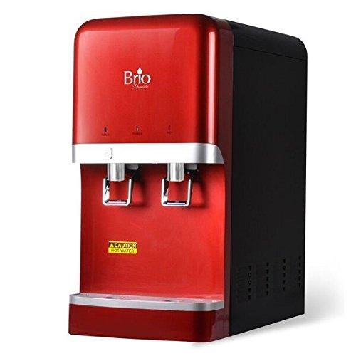Save on bottleless countertop water dispenser w 6 stage ez change r o filtration system by brio and magic mountain water products red