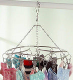 Discover laundry clothesline hanging rack for drying clothing set of 20 stainless steel clothespins round