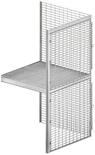 Salsbury Industries Bulk Storage Locker Double Tier Add-On, 36-Inch, 36-Inch