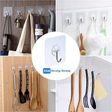 New dx da xin clip and drip hanger 52 clips clothes drying hanger for delicates jeans sock scarf gloves underwear bras cloth diapers with 20 metal clothespins and 6 self adhesive hooks