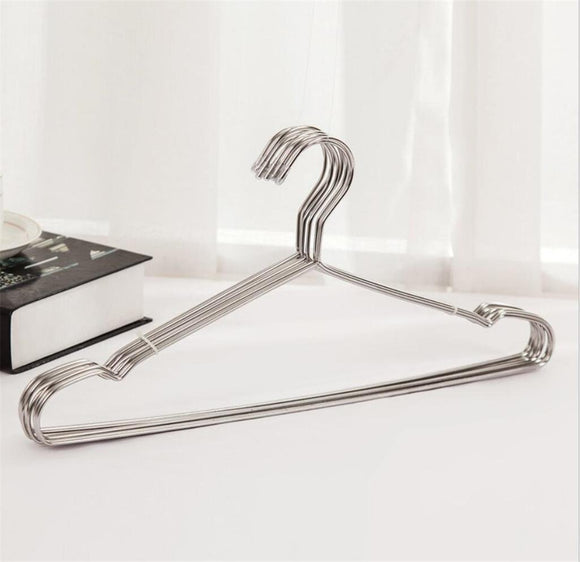 Save on stainless steel hanger non slip no trace multifunction hangers pack of 20 42cm