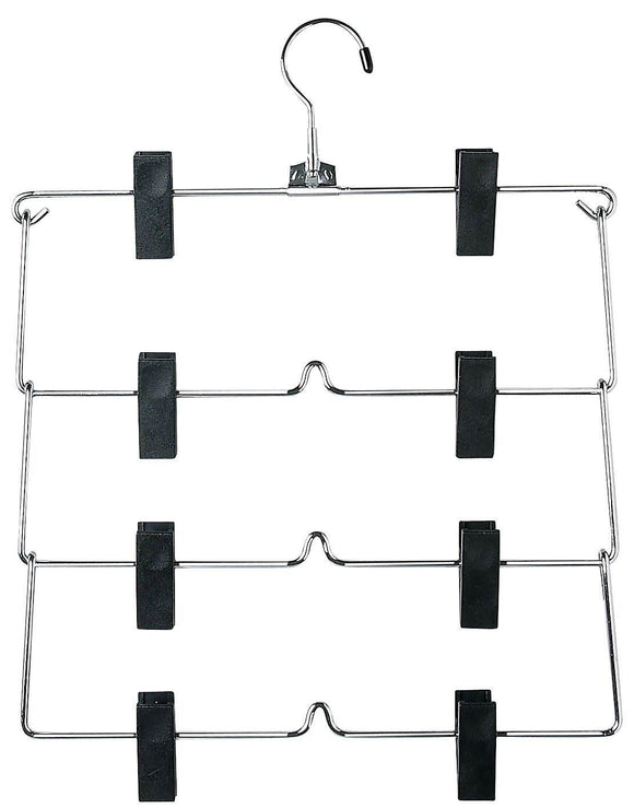 Save on honey can do chr 4tier skirt hangers chrome