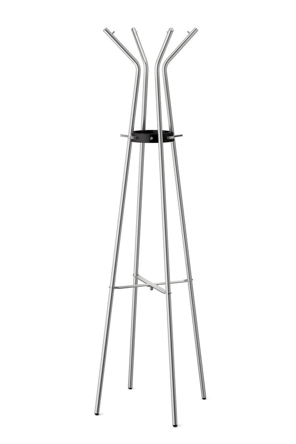 Zack Stainless Steel TEROS Matt Finished Coat Stand, 21.26