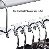 Save space saving hanger clothes hangers magic hanger 360 swivel keep your clothes organized wrinkle free 4 pack wardrobe metal hanger 1 pack tie rack belt hanger hook