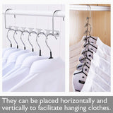 Purchase space saving hanger clothes hangers magic hanger 360 swivel keep your clothes organized wrinkle free 4 pack wardrobe metal hanger 1 pack tie rack belt hanger hook