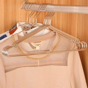 Top ecolife sunshine stainless steel clothes hangers 16 5 inch set of 30