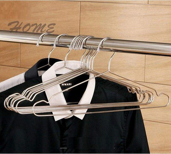 Save ecolife sunshine stainless steel clothes hangers 16 5 inch set of 10