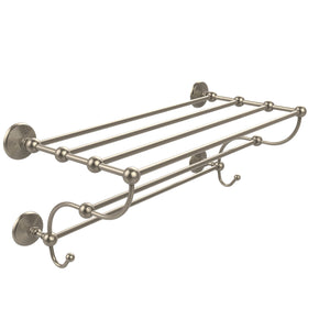 Allied Brass PMC-HTL/24-5-PC Prestige Monte Carlo Collection Train Rack Towel Shelf, 24""